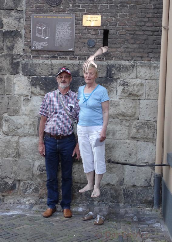 stenen griezelhuis
